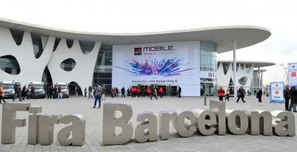 Mobile World Congress -messut on järjestetty Barcelonassa vuosien ajan. Kuva vuodelta 2015.