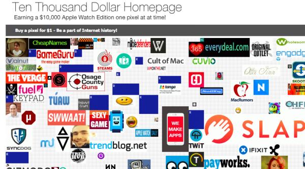 Ten Thousand Dollar Homepage eli rahaa Apple Watchia varten