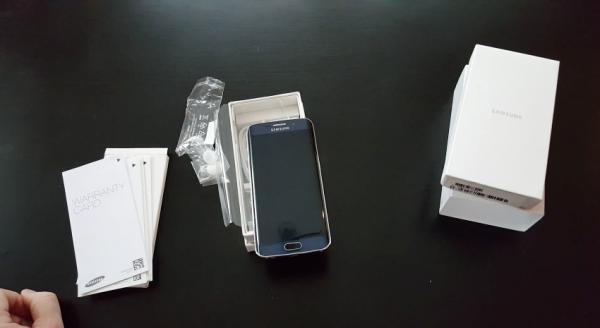 Galaxy S6 edge unboxing