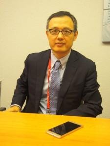 Yanmin Wang, joka vastaa johtajana Huawein laitteista Keski- ja Itä-Euroopassa sekä Pohjoismaissa