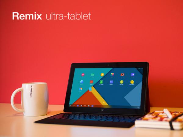 Remix Ultratablet -laite.