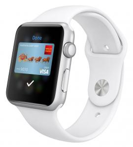 """Apple Pay on heti yksi """"tappajasovellus"""" Apple Watchille - siis siellä, missä se toimii"""
