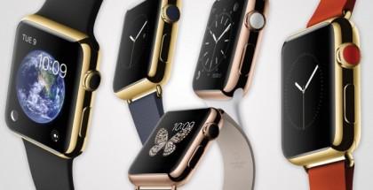 Apple Watch Edition -kultamallikin tulee useina eri versioina