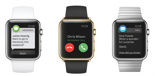 Apple Watch Sport + Apple Watch Edition + Apple Watch