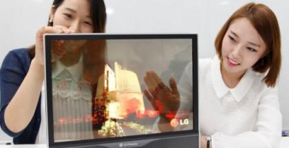 LG:n läpinäkyvä näyttö