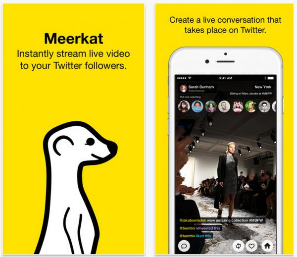 Meerkatin idea on simppeli: helppo tapa kuvata live-videolähetystä iPhonesta ja jakaa tieto Twitteriin