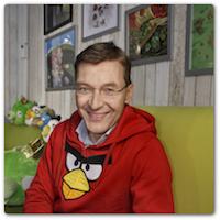 Rovion toimitusjohtaja Pekka Rantala