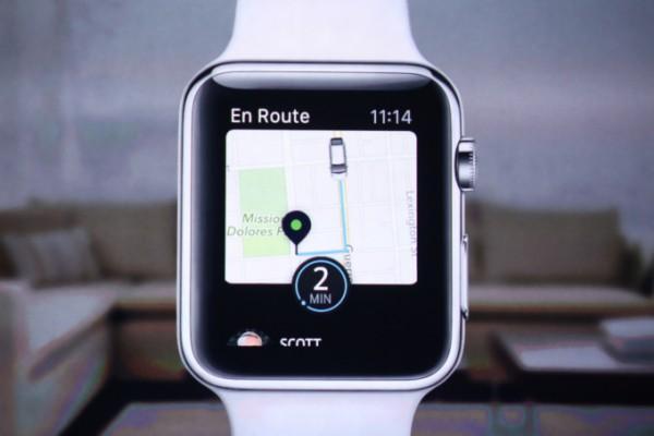 Uber on yksi parhaiten Apple Watchille sopivista vanhoista merkittävimmistä sovelluksista