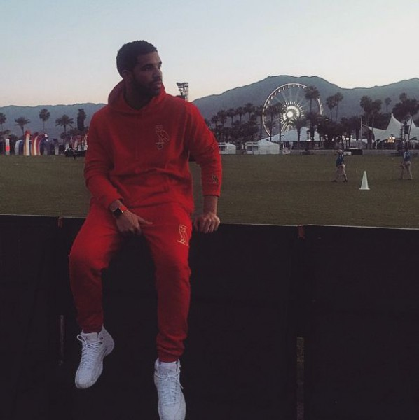 Drake ja Apple Watch Edition