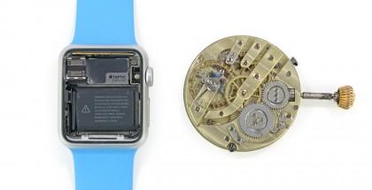 Apple Watch ja perinteinen taskukello