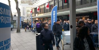 Galaxy S6 -jono Rotterdamissa, Alankomaissa