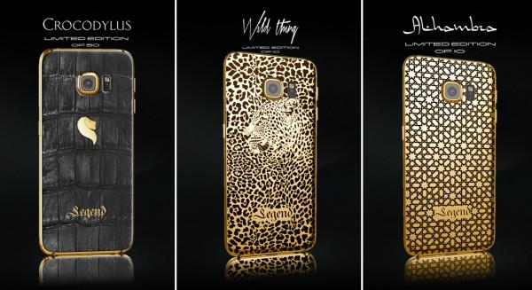Legendin tarjoamat rajoitetun saatavuuden Galaxy S6 -luksusmallit