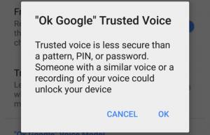 Android-laitteilla on jo nähty monenlaisia tunnistautumismenetelmiä.