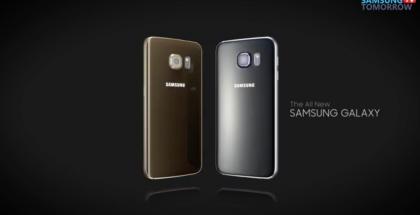 Samsung Galaxy S6 ja S6 edge. Kuvakaappaus YouTubesta.