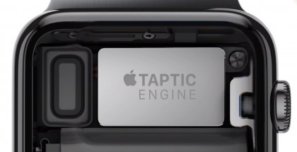 Apple Watchin Taptic Engine -värinämoottori