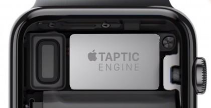 Apple Watchin Taptic Engine -värinämoottori