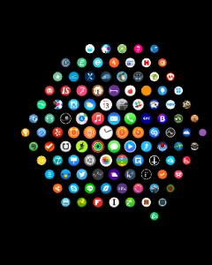 Sovelluksia on Apple Watchissani ollut aika reippaasti