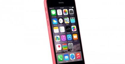 Mystinen iPhone 5C sormenjälkitunnistimella.