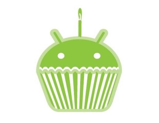 Android 1.5 Cupcaken logo
