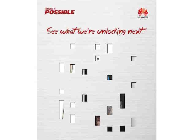 Huawei järjestää julkistustilaisuuden New Yorkissa 2. kesäkuuta