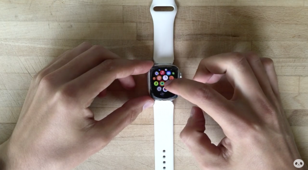 Pyöristetty Apple Watch