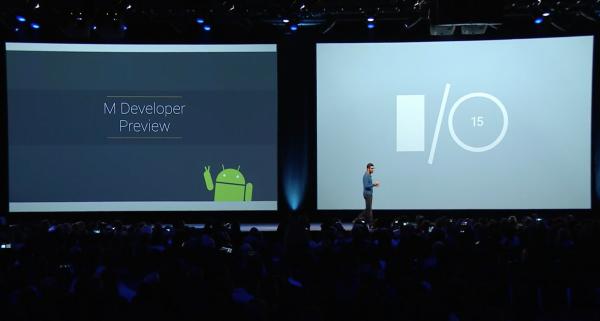 Google I/O '15 -tapahtuman avasi Android-johtaja Sundar Pichai.