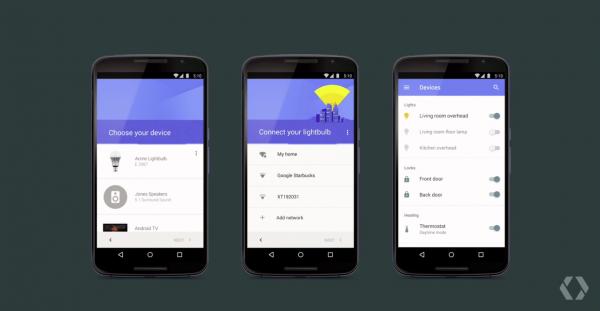 Kodin älylaitteita voi ohjata helposti Android-puhelimella.