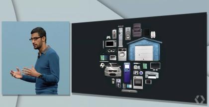 Syndar Pichai ja Google haluavat yhdistää arkiset esineet tietoverkkoon.