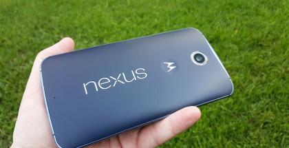 Googlen ja Motorolan Nexus 6.