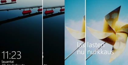Windows Phone lasten nurkkaus (Lumia 830)