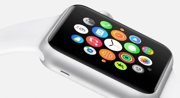 Apple Watch, sovellusvalikko sivulta