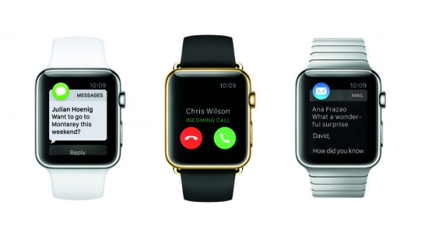 Viestit, saapuva puhelu ja sähköposti Watchissa