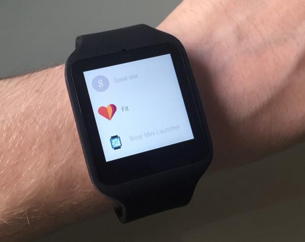 Android Wearin valikkoa nykyisin - tuleva päivitys muuttaa tilannetta