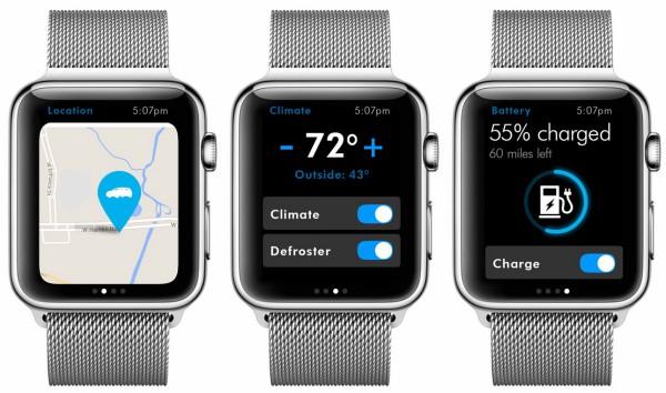 Car-Net -sovellus Apple Watchissa