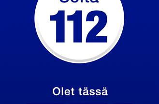 112 Suomi voi pelastaa ihmishenkiä.