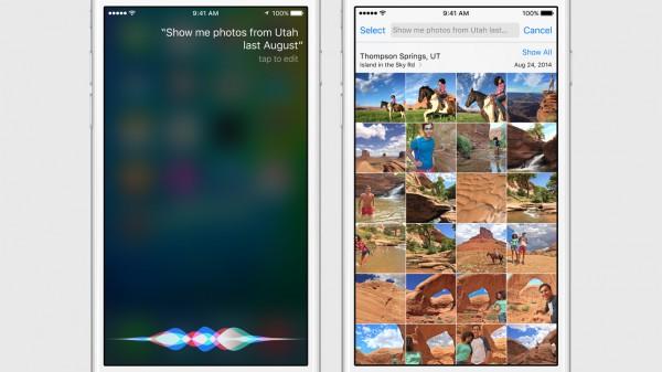 Sirin käyttöliittymä saa uuden ilmeen.