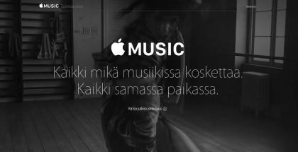 Apple on markkinoinut Musicia ilmaisilla kokeilukasoilla.