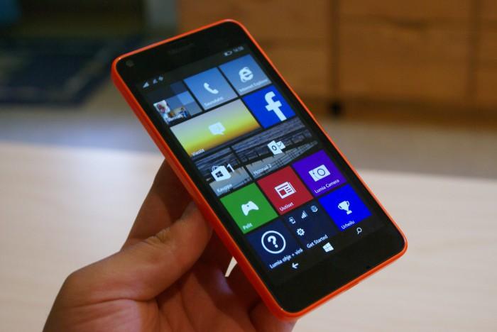 Lumia 640 XL.
