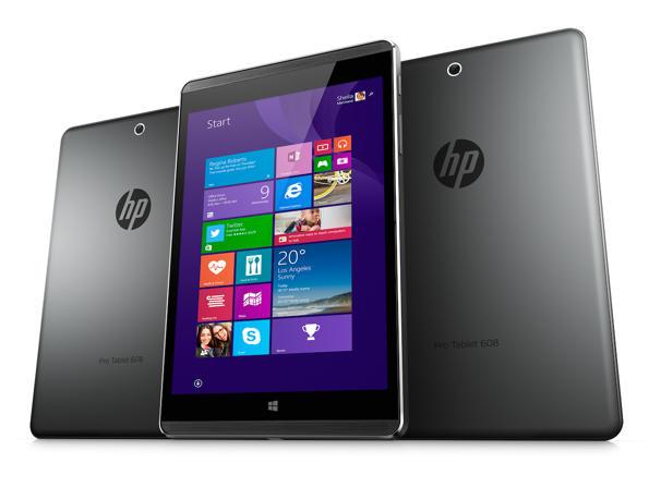 HP:n uusi Pro Tablet 608