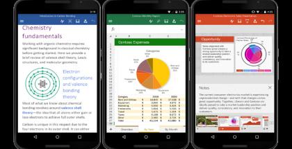 Microsoft toi Office-sovellukset myös Android-puhelimille