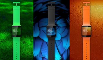 Nokian kehittämä Moonraker-kello aiemmin vuotaneessa kuvassa.