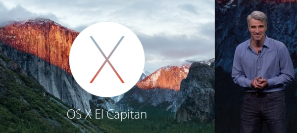 OS X El Capitania esitteli Applen Craig Federighi
