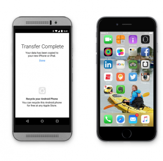 Näin siirrät yhteystiedot kätevästi Androidista iPhoneen