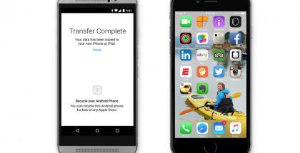 Applen Move to iOS auttaa siirtämään tietoja Android-laitteesta iOS-laitteeseen