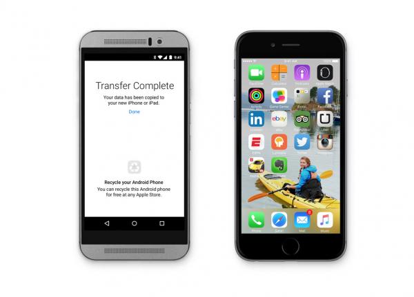 Applen Move to iOS auttaa siirtämään tietoja Android-laitteesta iOS-laitteeseen.