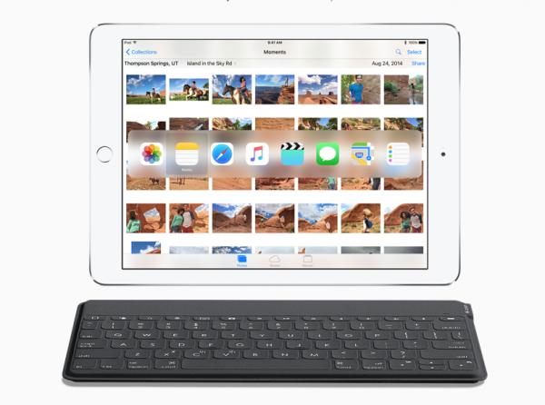 iOS 9 tuo iPadeille aiempaa laajemman tuen langattomille näppäimistöille, ja mahdollistaa erilaisten näppäinoikoteiden käytön.