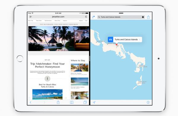 iOS 9:n Split View tulee aluksi iPad Air 2:een