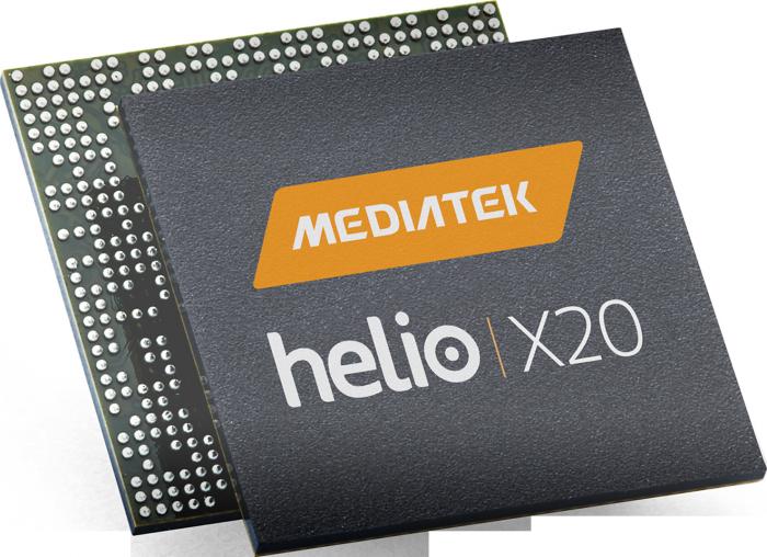 10-ytiminen Mediatek Helio X20