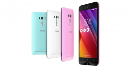 ZenFone Selfie on saatavilla useissa väreissä