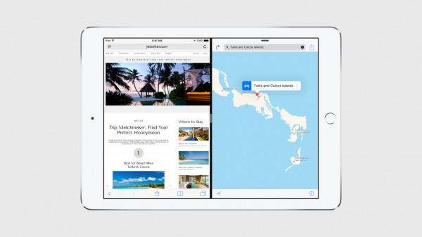 Jaetun ruudun moniajo iOS 9:ssä